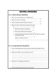 Worksheets Hotel Rwanda Worksheet english worksheets hotel rwanda worksheet rwanda