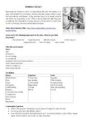 English Worksheet: working ethically