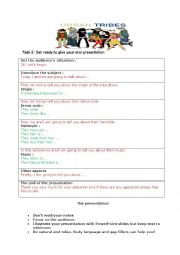 English Worksheet: Urban tribes part 2