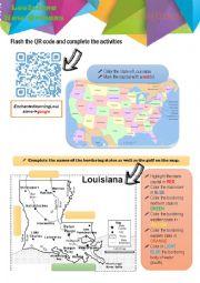 Webquest Louisiana