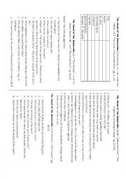 English Worksheet: The Hound of the Baskervilles-Test for elementary readers
