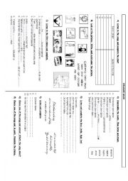 English Worksheet: ICE-BREAKER ACTIVITY