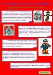 GUY FAWKES - BRIEF JUMBLED STORY (FROM BRITISH STORY MAKERS)
