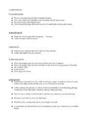 English Worksheet: How to write compositions (2� Bachillerato)