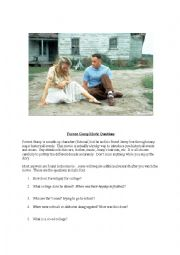 English Worksheet: Forrest Gump Movie Questions