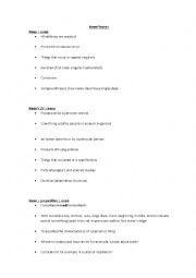 English Worksheet: Advanced noun phrases worksheet