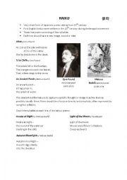 english worksheets haiku worksheets. Black Bedroom Furniture Sets. Home Design Ideas