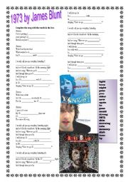 English Worksheet: James Blunt 197...