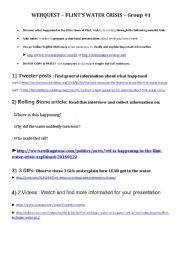 english worksheets flint water crisis webquest part 1. Black Bedroom Furniture Sets. Home Design Ideas