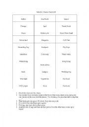 English Worksheet: Three Group Activities for Relative (Adjective) Clauses