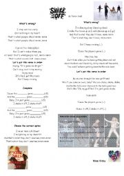 English Worksheet: Shake it off By Taylor Swift