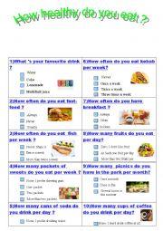 Quiz Health Habits