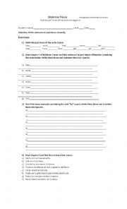 English Worksheet: Robinson Crusoe (Oxford Bookworms) Worksheet 2
