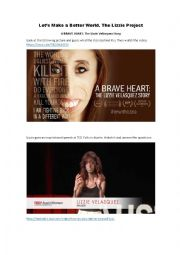 Speaking and listening lesson. What defines you? Lizzie Velasquez TED Talk
