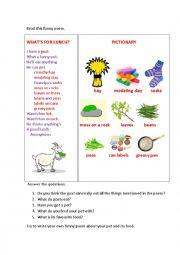 English Worksheet: WHAT