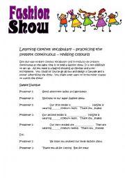 Fashion Show - role play