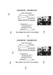 LOVE ME DO - SONG