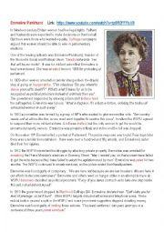 Emmeline Pankhurst Biography
