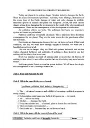 english worksheets environmental protection issues. Black Bedroom Furniture Sets. Home Design Ideas