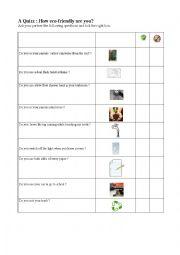 english worksheets the environment worksheets page 174. Black Bedroom Furniture Sets. Home Design Ideas