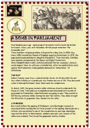 A bomb in Parliament