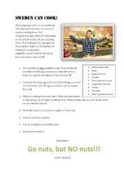 English Worksheet: Cooking show