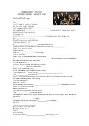 English Worksheet: HEALTH VOCABULARY WITH MODERN FAMILY