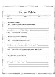 Story Map Worksheet | Reading Comprehension |