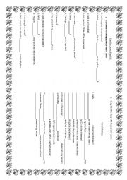 English Worksheet: one ones gapped text