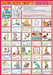 PRESENT PERFECT CONTINUOUS Exercises 12