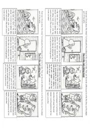 english worksheets the little red riding hood sequencing. Black Bedroom Furniture Sets. Home Design Ideas