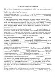 english worksheets the old man and the sea worksheets. Black Bedroom Furniture Sets. Home Design Ideas