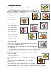 English Worksheet: The chinese new year