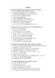 English Worksheet: English Syntax