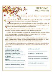 the four seasons esl worksheet by marimaise. Black Bedroom Furniture Sets. Home Design Ideas