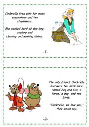English Worksheet: Cinderella fairy tale