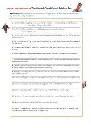 Unreal Conditional Advisor Worksheet