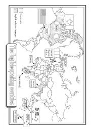 English Worksheet: THE ENGLISH-SPEAKING COUNTRIES