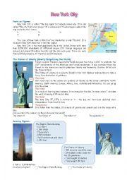 English Worksheet: New York