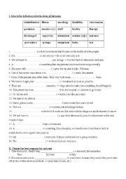 English Worksheet: ESP