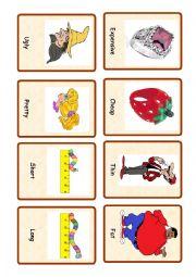Opposites ( set of cards  1)