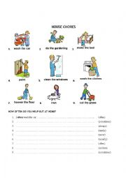 English Worksheet: Daily routines: Frequency adverbs & telling time