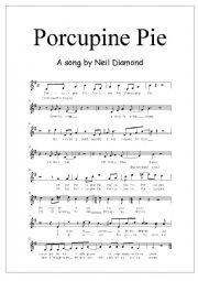 English Worksheet: Porcupine Pie part 3