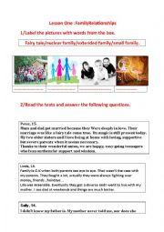 Esl activities dating relationships