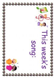 English Worksheet: Classroom/notice board posters.