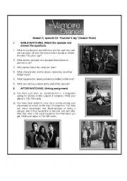 The Vampire Diaries Season 1 Season Finale