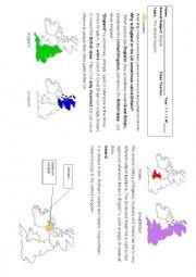 English Worksheet:  geography of United Kingdom