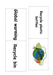 English Worksheet: ECOLOGY GAME