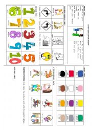 English Worksheet: general revision