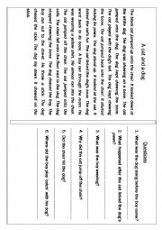 Collection of Reading Comprehension Passages from Informational and Literary topics for ELEMENTARY and BEGINNER Learners